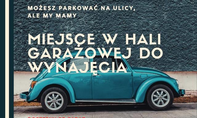 Garaż do wynajęcia <span>Poznań, Grunwald, Jeleniogórska 1/3</span>