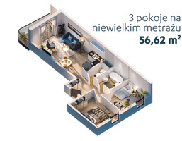 Morizon WP ogłoszenia | Mieszkanie na sprzedaż, Warszawa Bemowo, 57 m² | 9349