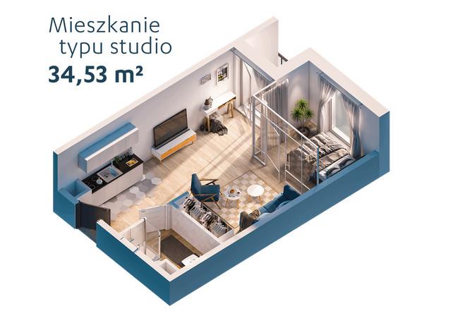 Morizon WP ogłoszenia | Kawalerka na sprzedaż, Warszawa Praga-Południe, 35 m² | 7135