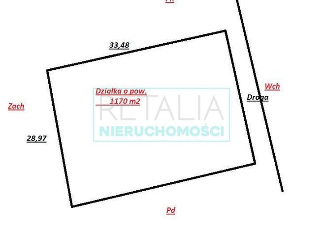 Morizon WP ogłoszenia | Działka na sprzedaż, Wola Prażmowska, 1170 m² | 3911