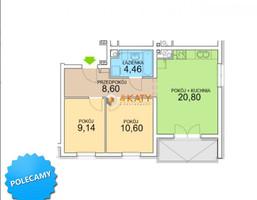 Morizon WP ogłoszenia   Mieszkanie na sprzedaż, Zielona Góra, 54 m²   0615