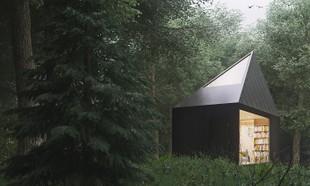 Leśny domek – samotnia dla spragnionych kontaktu z naturą