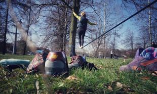 Parki, place zabaw, sport i rekreacja na Koszutce