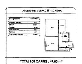 Mieszkanie do wynajęcia, Francja Saint-Mande, 48 m²